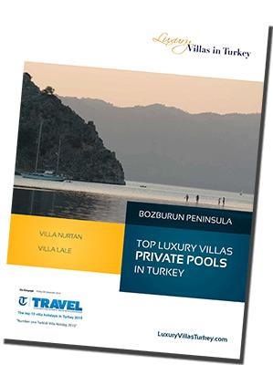 Luxury Villas Turkey A4 Brochure
